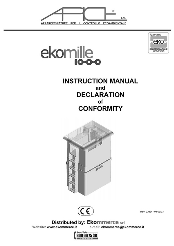 Ekomille Trianing Manual